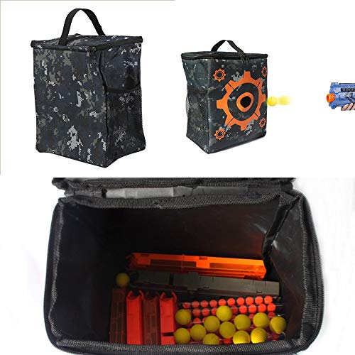 Storage Bags - Oxford Cloth Target Pattern Shooting Practice Pouch Refill Clip Darts Bullets Bag Storage Carrying - Tight Jewellery Hold Plastic Sealed Comforter Free Boxes Milk Mattresses T ()
