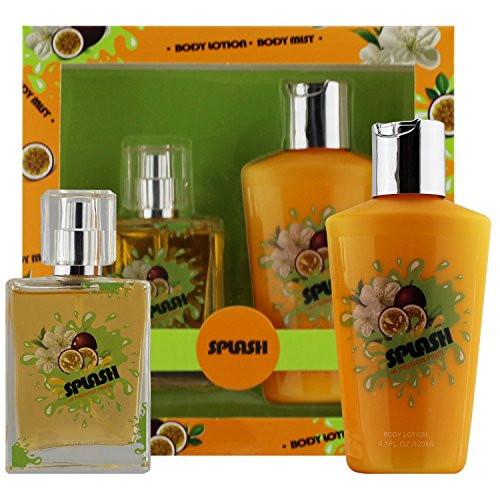 Splash Of Passion Fruit - Fragrance Body Mist - Body Lotion Gift Set, Splash Collection