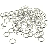 200 PCS Open Jump Rings – YSLF 10 mm Stainless Steel Open Jump Rings Connectors Jewelry Findings
