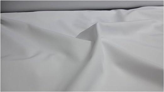 Fabrics de City Blanco Puro Algodón Popelina Tela Tela de algodón ...