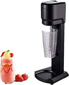 KUNHEWUHUA Milkshake maker Drink mixer Soft Ice Cream Maker Blender Cocktail & Drink Mixer with 34 oz Cup 110v