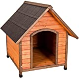 ware dog house large - Ware Manufacturing Premium Plus A-Frame Fir Wood Dog House - Extra Large