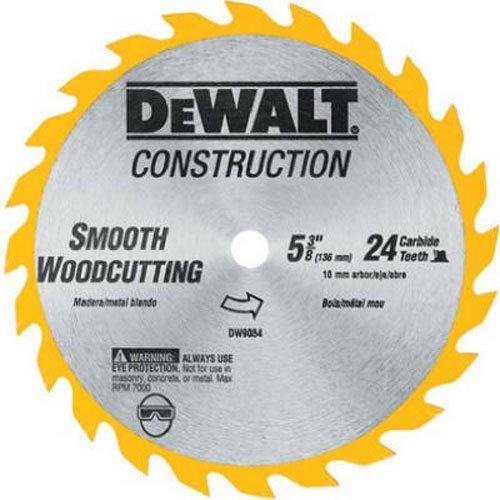 DEWALT DW9054 5-3/8-Inch 24 Tooth ATB General Purpose Saw (Dewalt Dw935 Power Tool)