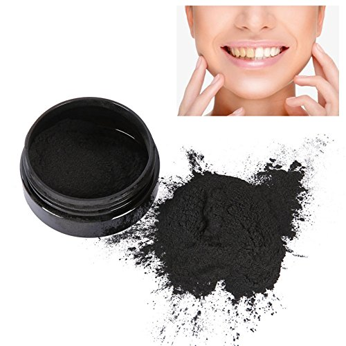 Nynoi Coconut Shells Activated Carbon Teeth Whitening Organic Natural Bamboo Charcoal Toothpaste Powder Wash Your Teeth - Sunglasses Flour