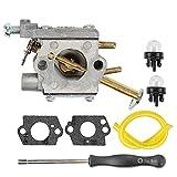 Allong Carburetor w Adjusement Tool for Homelite UT-10532 UT-10926 UT-10516 D3300 D3800 N3014 Ranger 20 23 B2216CC 33CC RYOBI RY74003D Chainsaw 300981002 A09159 000998271 A09159A Rep C1Q-601 C1Q-H42