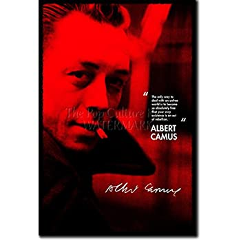 Amazon.com: Albert Camus Poster, Absurdism, Philosopher ...