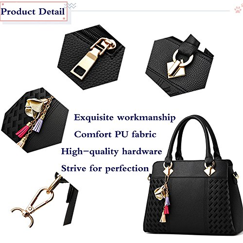 Handbags FiveloveTwo Satchel Ladies Dark Blue Crossbody Bags and Tote Womens Shoulder Leather Purses PU Elegant Messenger 8wrSqw