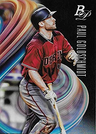 Amazoncom 2018 Bowman Platinum Baseball 70 Paul