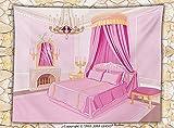 Teen Girls Decor Fleece Throw Blanket Interior of Magic Princess Bedroom Old Fashioned Ornament Pillow Lamp Mirror Throw