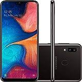 Smartphone Samsung Galaxy A20, 32Gb, 6.4'', Preto Sm-A205Gzkrzto