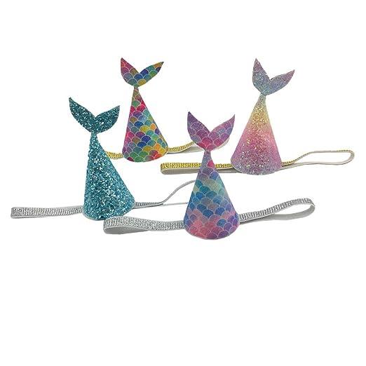 FENICAL Corona del cumpleaños de los sombreros de la cola de ...