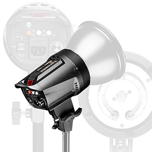 5500K 255W Bowens Mount Stepless Dimming Flash SpeedLit For Studio Video Photography Camera Lighting Accessories by ONBST