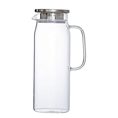 Jarra de Agua Cristal 1,5 litros Agua Jarra Botella de ...