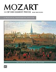 Mozart - 14 of His Easiest Piano Pieces