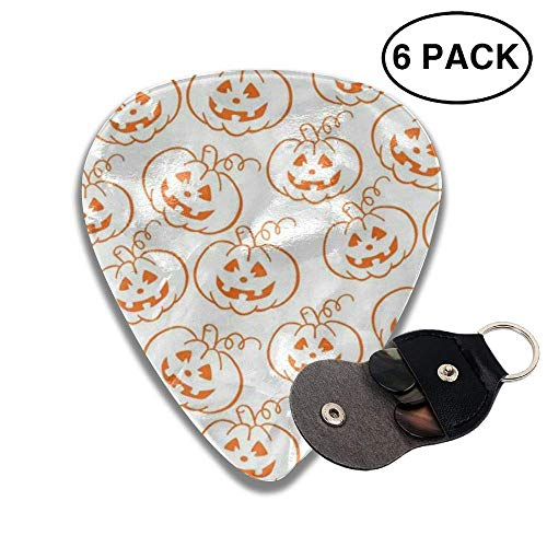Jack O�Lanterns Celluloid Guitar Picks 6 Pack Includes for sale  Delivered anywhere in Canada