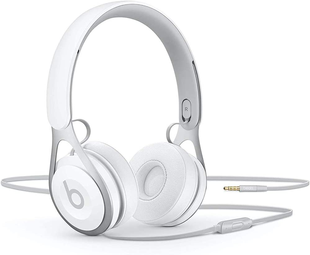 Amazon.com: Beats Ep Wired On-Ear Headphones - Battery Free For Unlimited  Listening, Built In Mic And Controls - White