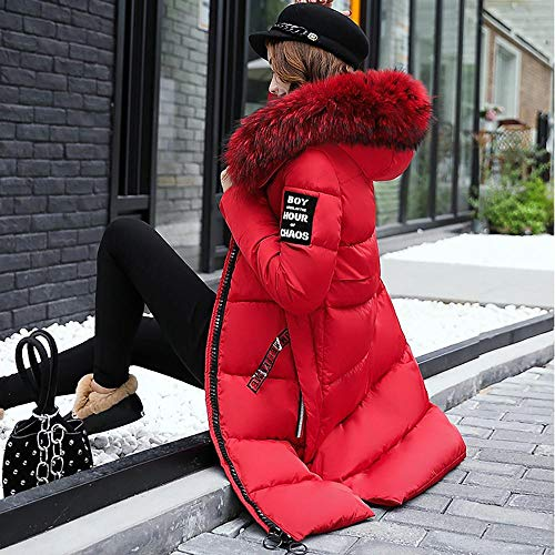 Velluto Con Cappotto Donna Felpe Ragazza Invernali Rosso Cappuccio Casual mambain Trench Giacca Aggiungi Forti Da Taglie cappotti Eleganti Down Giacche Addensare Jacket q8dx8tFrw
