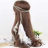 BUYITNOW Boho Feather Headband Native In