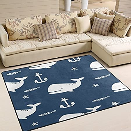 51hPlmkoXmL._SS450_ Whale Rugs and Whale Area Rugs