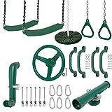 Swing Set Stuff Inc. Ultimate Kit (Green) and SSS Logo Sticker