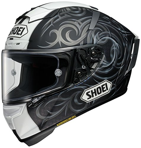 Shoei Kagayama 5 X-14 Street Racing Motorcycle Helmet - TC-5 / Medium