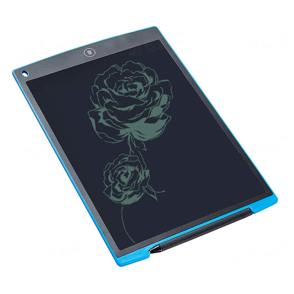 12 Inches LCD Writing Tablet Doodle Pad Kitchen Fridge Memo Board Suitable for Kids Home School Office