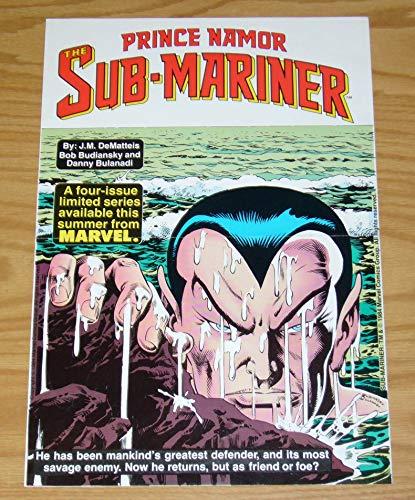 "Prince Namor, The Sub-Mariner 11"" x 16"" Poster - Marvel Comics ; poster (0091X-F)"