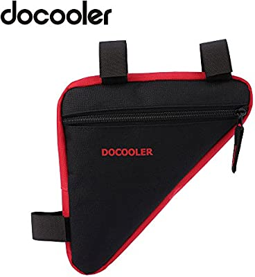 Docooler - Bolsa triangular para bicicleta, de tejido Oxford, 18 x ...
