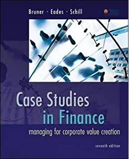Analysis for financial management 10th edition robert c higgins case studies in finance managing for corporate value creation mcgraw hillirwin fandeluxe Gallery