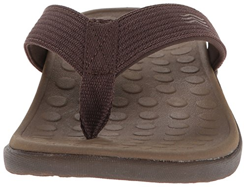 Post Vionic Toe Sandal Wave Chocolat Unisex q11Pw6xtTn
