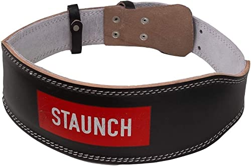 Staunch Leather Weight Belt One Size