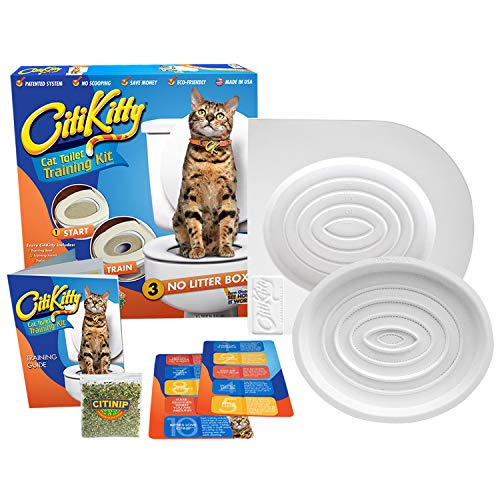 CitiKitty Cat Toilet Training Kit (One - Litter Training Toilet Kwitter