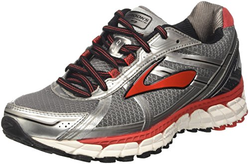 Brooks Men Defyance 9 Scarpe Da Corsa Multicolore (carbone / Argento / Highriskred)