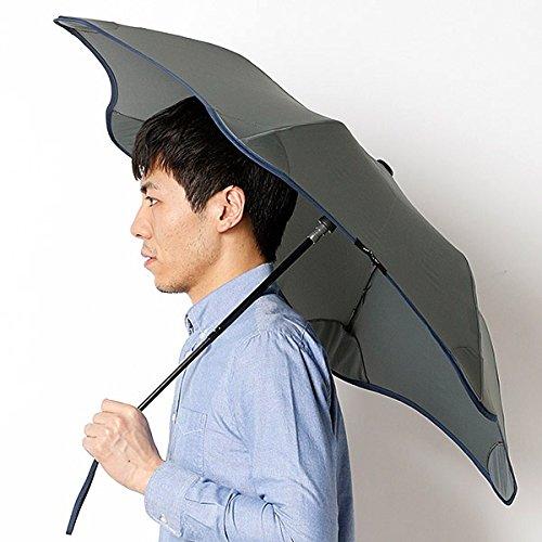 ブラント(BLUNT) 【空気力学による風に強い構造6色展開】ユニセックス長傘(メンズ/レディース雨傘) B0721CYBNV 51|74ネイビー 74ネイビー 51