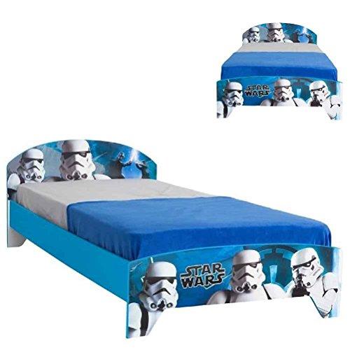 Star Wars wooden Single child Bed