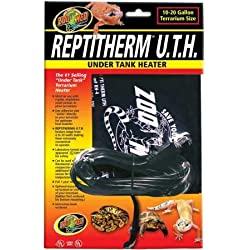 """Zoo Med Reptitherm Under Tank Heater (1020 gallons) 6"""" by 8"""""""