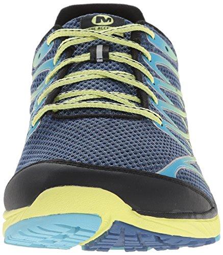 Merrell BARE ACCESS 4 - Zapatillas para hombre Blue (Tahoe Blue/Sunny Yellow)