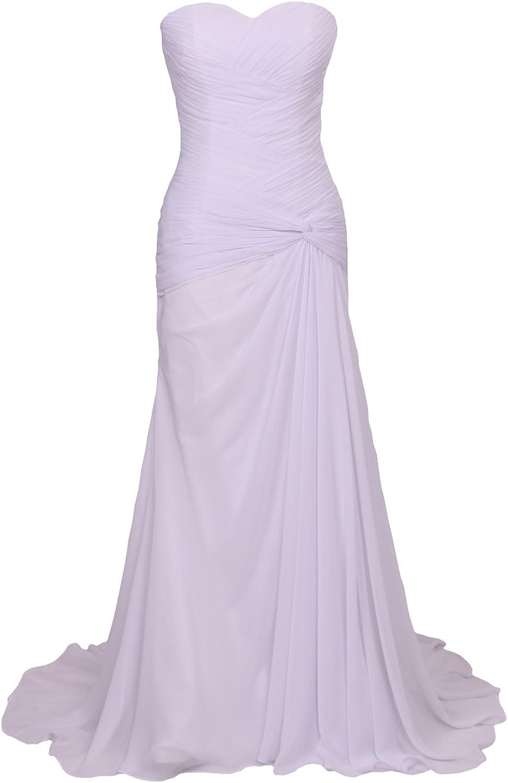 Trumpet Chiffon Long Beach Wedding Dresses Pleated Corset Bridal Gown Plus Size WD32