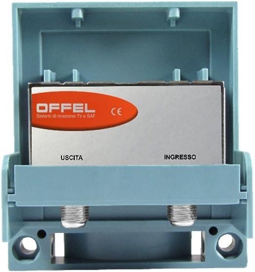 Amplificador TV para antena logarítmica UHF/VHF 33 dB ...