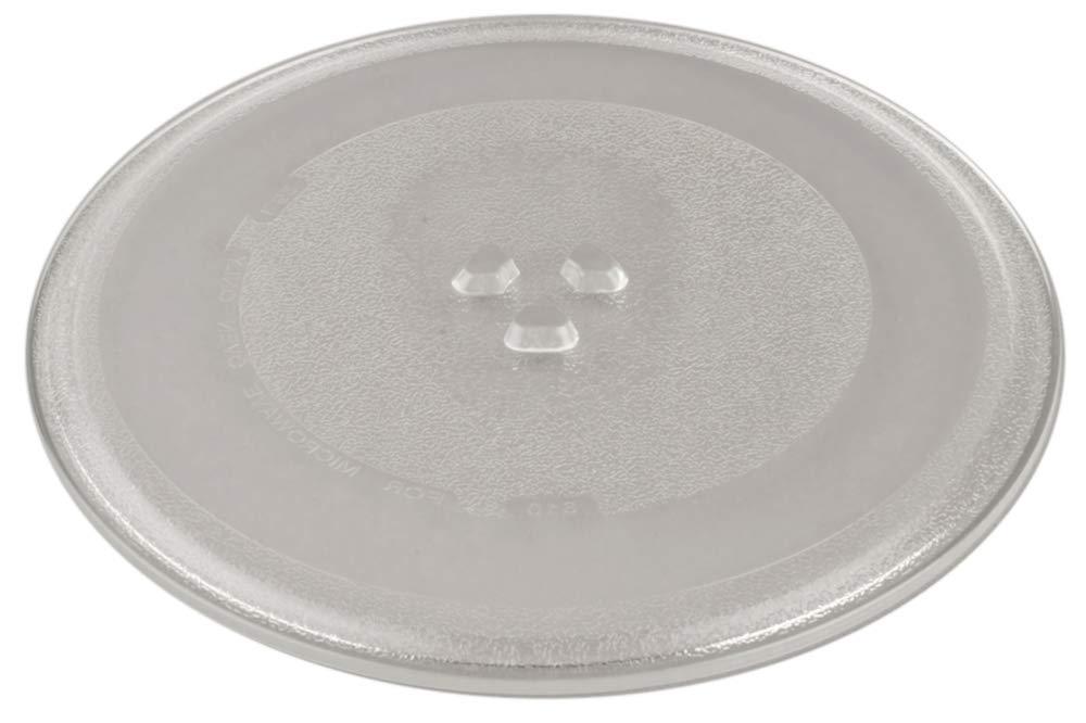 Plato Cristal Giratorio para Microondas Fi.=255mm: Amazon.es: Hogar