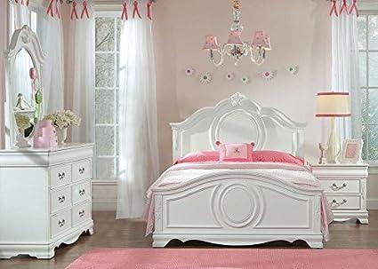 Attrayant Jessica White 5 Pc. Twin Bedroom Furniture Set 16u0026quot; ...