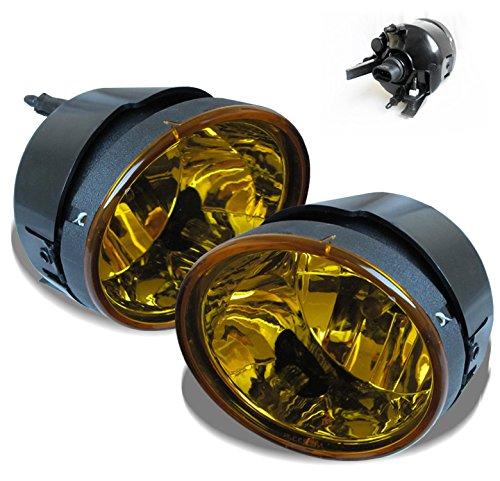 ZMAUTOPARTS Bumper Driving Yellow Fog Light Lamp +Bulb For Titan/ (Driving Yellow Lights)