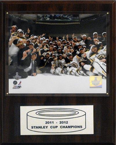 NHL Boston Bruins 2010-2011 Stanley Cup Celebration Champions Plaque
