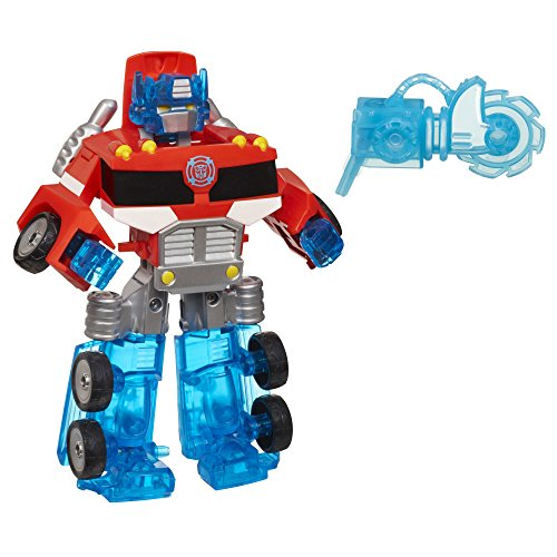 (Playskool Heroes Transformers Rescue Bots Energize Optimus Prime Action Figure, Ages 3-7 (Amazon Exclusive))