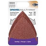 Dremel MM80W Multi-Max Grit Sand Paper, Wood, 18 Pack