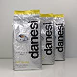 Danesi Gold Quality Beans 2.2 lbs bag Espresso Coffee Beans from Italy (3 x 2.2 lbs)