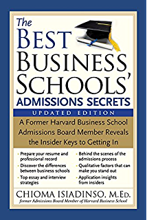 amazon com the best book on hbs admissions mba admissions
