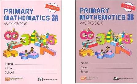 (Primary Mathematics Grade 3 WORKBOOK SET--3A and 3B)