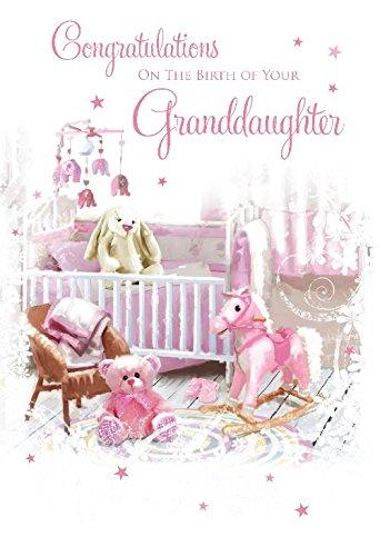 Tarjeta de felicitación para recién nacido «Congratulations ...