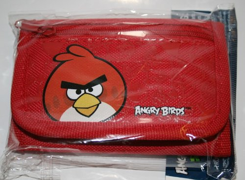 Angry Bird Tri-Fold Red Wallet by Rovio